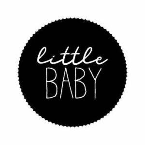 Sticker little baby